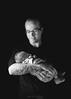 Like Father Like Son (David Raynham) Tags: family blackandwhite monochrome tattoo iso200 ocf fujifilm fatherandson likefatherlikeson lastolite 2015 1180 flagged f64 gridded yongnuo fujinonxf23mmf14r fujixt1 560tx 560iv
