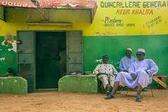 FQ9A5949 (gaujourfrancoise) Tags: africa portraits shops colored senegal coloré afrique boutiques traders nianing tradespeople commercants gaujour naïvepaintingspeinturesnaïves dibiteries