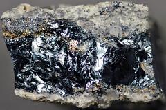 Digenite (latest Cretaceous to earliest Tertiary, 62-66 Ma; Leonard Mine, Butte, Montana, USA) 1 (James St. John) Tags: montana mine butte district mining minerals copper mineral leonard sulfide tertiary cretaceous paleocene sulfides paleogene danian maastrichtian digenite