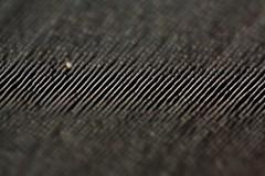 Listen closely (blondinrikard) Tags: macro lines closeup pattern stripes curves tracks single vinylrecord närbild spår macromondays musicrecord vinylsingle