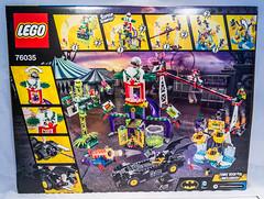 Lego 76035 - Jokerland (gnaat_lego) Tags: robin lego batman starfire pinguin poisonivy harleyquinn beastboy thejoker 76035 jokerland