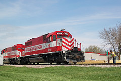 Line it back for the main (AndyWS formerly_WisconsinSkies) Tags: railroad train railway locomotive railfan emd sd402 wsor wisconsinandsouthern