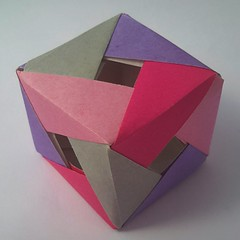 Cube (modular.dodecahedron) Tags: cube modularorigami tomokofuse edgemodule