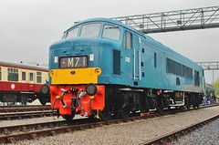 Bristol St. Philips Marsh Depot Open Day - 'Peak' No. 182 -2nd May 2016 (allan5819 (Allan McKever)) Tags: charity uk travel blue england heritage bristol day br open diesel transport peak rail railway somerset depot 182 52a class46 stphilipsmarsh