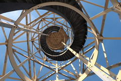 Stairway to the light (lique1304) Tags: blue sky lighthouse stairs vuurtoren lemmer