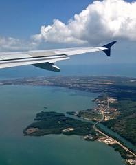 IMG_7167 (j.s. clark) Tags: water belize aerial belizecity