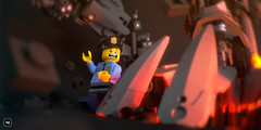 Finally... it's arrived (gabriele.zannotti) Tags: 3d support lego render transformers ideas grimlock ldd simlab mecabricks
