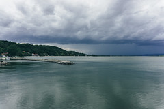 Stormy clouds over Danube (Micko1986) Tags: storm clouds sony serbia danube dunav golubac vsco a6000