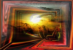 Sunrise (Jocarlo) Tags: art amanecer abstracto afotando adilmehmood abstract arttate adobe crazygeniuses crazygenius editing flickrclickx flickraward flickrstruereflection1 genius photowalk photowalkmelilla imagination jocarlo sky luz melilla ngc nocturnas nador montajesfotográficos sol monumentos soulocreativity1 pwmelilla sunset sun specialeffects sharingart