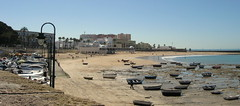 Beached boats at Cdiz (jas-mo) Tags: beach boats spain cadiz fishingboats sandybeach andaluscia