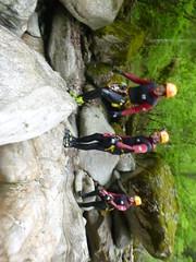 P1120414 (Mountain Sports Alpinschule) Tags: blue mountain sports lagoon canyoning zillertal zemmschlucht alpinschule