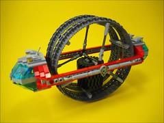 FERIS Wheel Film (David Roberts 01341) Tags: death star video lego space technic scifi allterrain monowheel minifgure