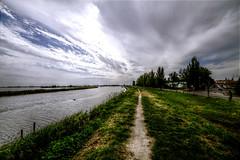 Comacchio landscape in HDR (Strocchi) Tags: canon landscape sigma wideangle hdr paesaggio comacchio 816mm eos7d