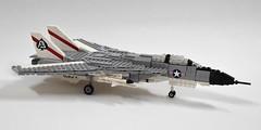 Grumman F-14A Tomcat update (1) (Dornbi) Tags: black us lego f14 aircraft navy aces tomcat grumman f14a
