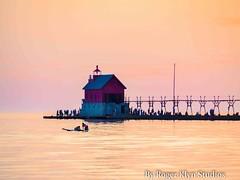 Sun Set Haven 5 16-122 (ramjetgr) Tags: sunset spring michigan olympus lakemichigan grandhaven westmichigan olympusem1
