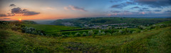 New Tredegar at sunset (tombeez) Tags: terraces valleys newtredegar rumnyvalley