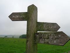 Where Now? Derbyshire (eamoncurry123) Tags: public farm derbyshire low arbor signpost footpath cales publicfootpath middleton monyash arborlow calesfarm