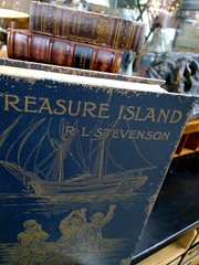 191. Treasure Island (1Q89) Tags: book antique
