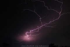 THUNDER!!! (Lekzaza.G) Tags: thunderstorm pathumthani unweather light storm night outdoor sky could day natural landscape long exposure lightning