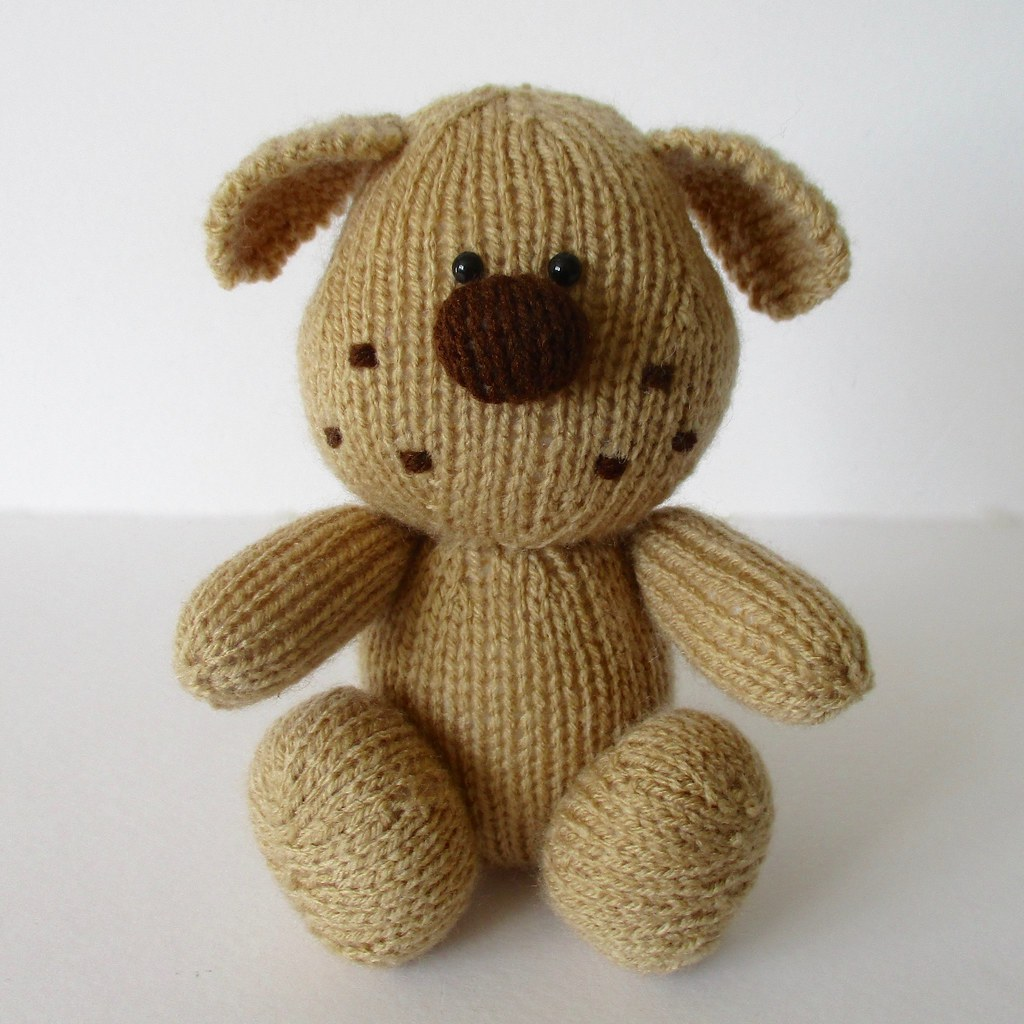 Free Knitting Pattern Toy Puppy : The Worlds Best Photos of dog and knitted - Flickr Hive Mind