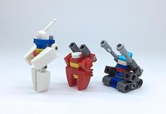 LEGO GUNDAM_05 (ToyForce 120) Tags: lego robot robots mecha mech mechanic weapon gundam ms legomech legomoc