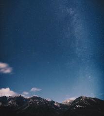 My Silver Lining (desomnis) Tags: night sky nightsky astrophotography astro skyandstars stars longtimeexposure longexposure mountains mounain alps alpen ramsau dachstein styria steiermark desmonis canon6d tamronsp2470mmf28 austria sterreich