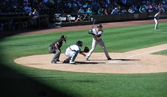 Afternoon Shadow - Aug 24, 2016 (Jeffxx) Tags: seattle mariners safeco batter shadow baseball yankees game 2016 august field aaron judge hitter new york umpire