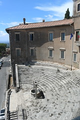 Palestrina (Praeneste) temple theatre. (kjn1961) Tags: praeneste palestrina fortuna primigenia fortunaprimigenia 2016italy