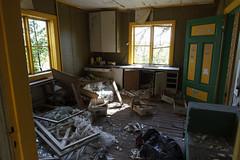 Vrangelsro house interior (hoekmannen) Tags: hoekmannen vrangelsro dehus abandoned de hus house scary torture chamber cellar tortyrkammare kllare