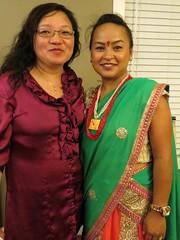 Pooja's Teej Party (SpiderMiau) Tags: pooja teej nepal nepali womens festival colorful ladies tradition jewels