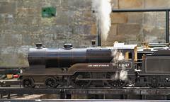 Brewing Up. (neilh156) Tags: steam railway miniaturerailway modelengineering gillingeast rydalesocietyofmodelengineers 62687 lordjamesofdouglas d11 director gcr lner