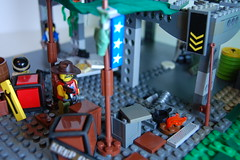 Resistance camp (my name is schimmi) Tags: lego custom post apoc battle fallout goverment society resitance