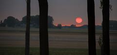Sunset Breskens (gelein.zaamslag) Tags: holland nederland netherlands zeeland zeeuwsvlaanderen breskens zonsondergang sunset zon sun landschap landscape geleinjansen
