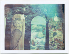 (Rebecca...) Tags: world uk film beach polaroid cornwall surf board belly championships expired 2014 669 bellyboard wbbc polaroidautomatic450