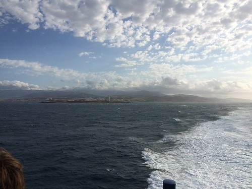 Taking the Ferry from Tarifa to Tanger