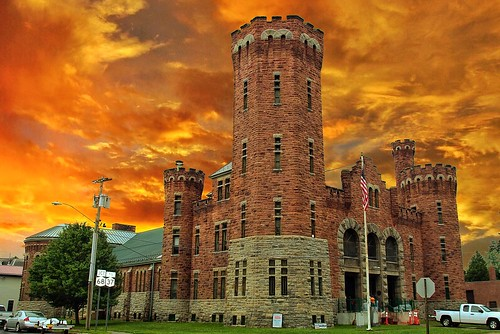 Ogdensburg New York ~ Ogdensburg Armory ~ Historcal Building