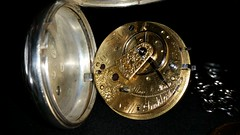 Running! And cleaned :) (Brendan Schmidt) Tags: time pocketwatch fusee antiquewatch englishlever