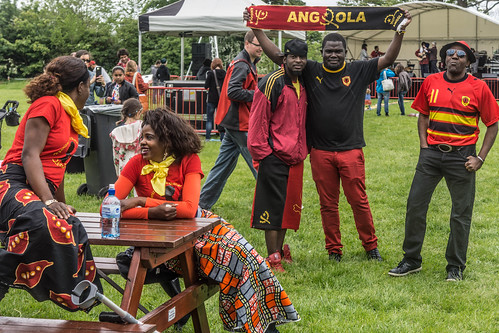 AFRICA DAY 2015 - CELEBRATED TODAY AT FARMLEIGH HOUSE [DUBLIN] REF-104450