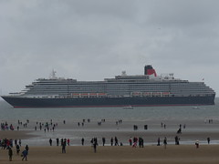 MS Queen Victoria (Peter_D_91) Tags: cunard rivermersey crosbybeach msqueenvictoria