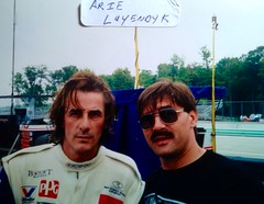 INDY, CART, ARIE LUYENDYK, Pictures with Drivers (Picture Proof Autographs) Tags: photograph photographs inperson pictureproof photoproof picture photo proof image images collector collectors collection collections collectible collectibles classic session sessions authentic authenticated real genuine sign signed signing sigature sigatures auto autos vehicles vehicle model automobile automobiles driver drivers autoracing sport sports indy cart irl openwheel f1 racing series dodge charger intrepid ford thunderbird chevy lumina montecarlo pontiac grandprix taurus fredweichmann frederickweichmann fred frederick weichmann