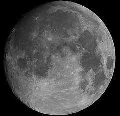 Waxing Gibbous Moon 31st May 2015 (David Blanchflower) Tags: sky moon night canon solar space system telescope astrophotography astronomy lunar gibbous waxing skywatcher