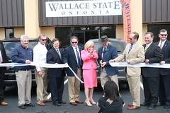 IMG_7107 (Wallace State Community College) Tags: campus dr cutting ribbon vicki oneonta