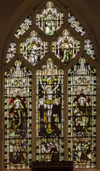 Corringham, St Laurence's church, east window (Jules & Jenny) Tags: stainedglasswindow lincs kempe corringham eastwindow