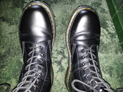 20160412_091207 (rugby#9) Tags: original black feet yellow boot shoe hole boots 10 lace dr air 7 indoor icon wear size footwear stitching comfort sole doc cushion soles dm docs eyelets drmartens bouncing airwair docmartens martens dms 1490 cushioned wair 10hole doctormarten yellowstitching