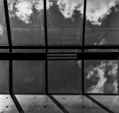 Window (charlier.valentin) Tags: sky bw cloud white black geometric architecture blackwhite brittany bretagne nb reflect nuage valentin rennes noirblanc charlier gomtrique valentincharlier charliervalentin