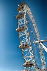 London Eye (Stefano Guastalegname) Tags: city panorama london westminster amazing londoneye panoramic capitale bianco londra citt ruota turista divertimento panoramo