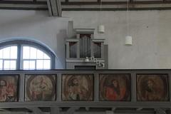 Empore mit Ersatzorgel (julia_HalleFotoFan) Tags: orgel kelbra sachsenanhalt kirchestgeorgii