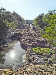 Genbikei (MIREILLE) Tags: nature rock japan landscape rocks gazebo iwate     tohoku hdr