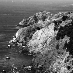 Marin headlands in monochrome (Stephen Sarhad) Tags: ca usa monochrome marin marincounty sausalito marinheadlands