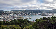 Wellington (Kiwi-Steve) Tags: city newzealand landscape nikon cityscape harbour nz wellington northisland mountvictoria wellingtonharbour nikond90